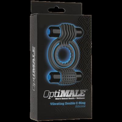OptiMALE ™ - Anillo en C doble vibratorio