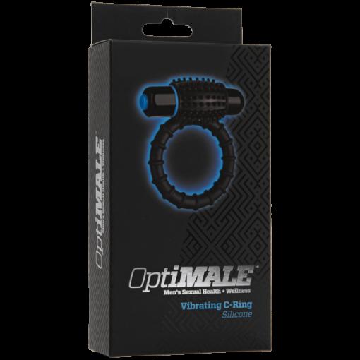 OptiMALE ™ - Anillo en C vibrante - Negro